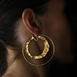 Fingerprints earring