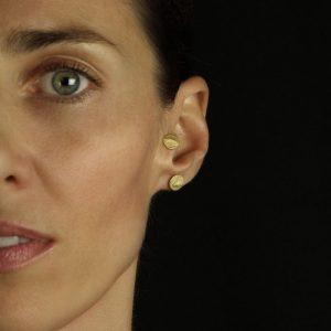 fingerprint earring